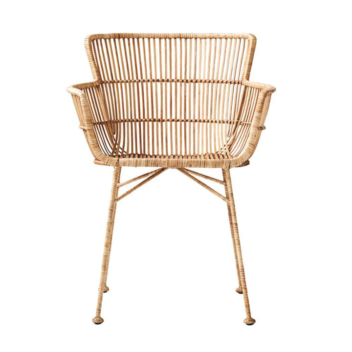 Cuun rattan chair by House Doctor in nature