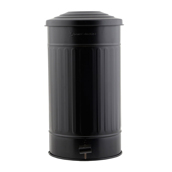 Trash can matt 24 l by House Doctor in black