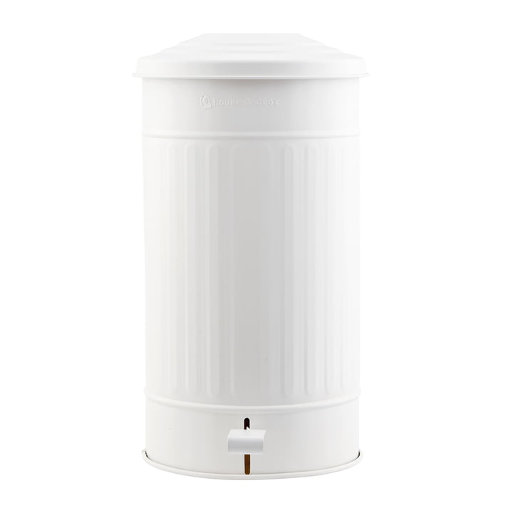 Trash can matt 24 l by House Doctor in white