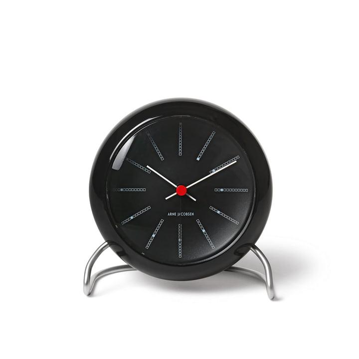 AJ Bankers Alarm Clock by Rosendahl in black