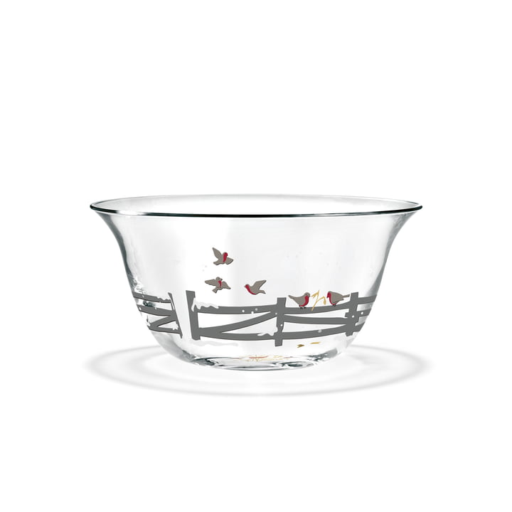 Christmas bowl 2019 Ø 13 cm from Holmegaard in clear