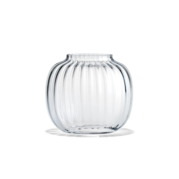 Primula Vase oval H 12,5 cm from Holmegaard in clear