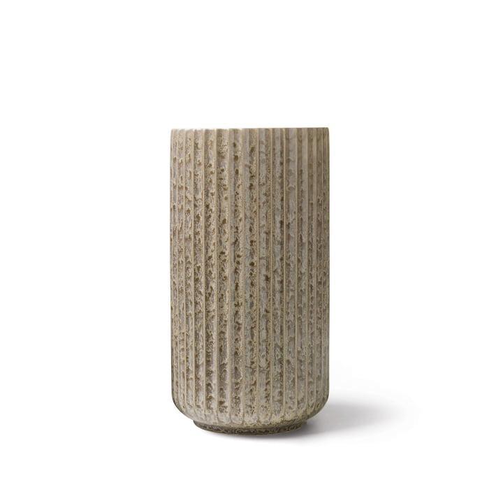 Radiance Vase H 15 cm from Lyngby Porcelæn in grey