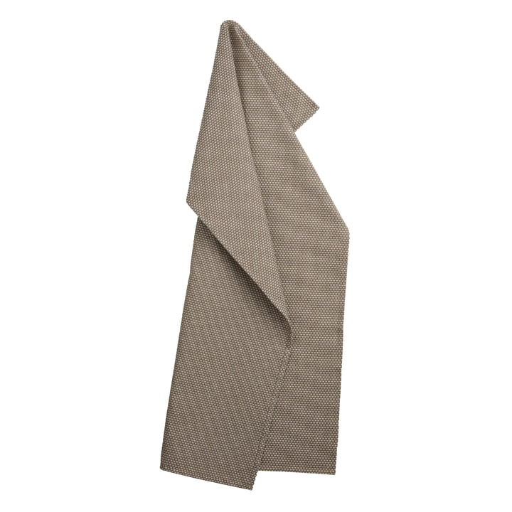 Egypt kitchen towel 50 x 80 cm by Georg Jensen Damask in walnut