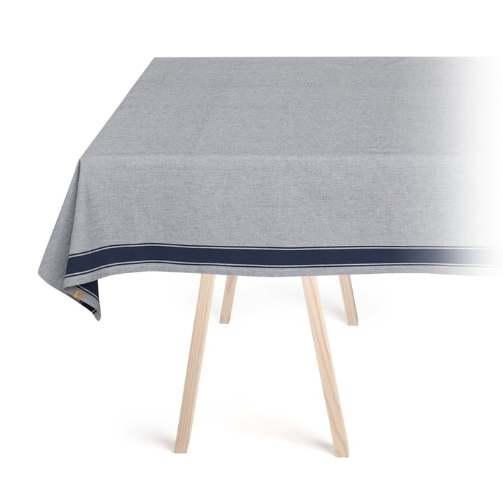 Solid tablecloth, navy by Georg Jensen Damask