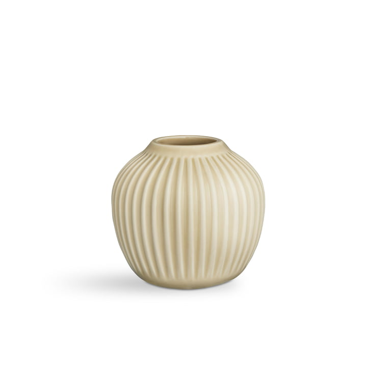 Hammershøi Vase H 12,5 cm from Kähler Design in birch