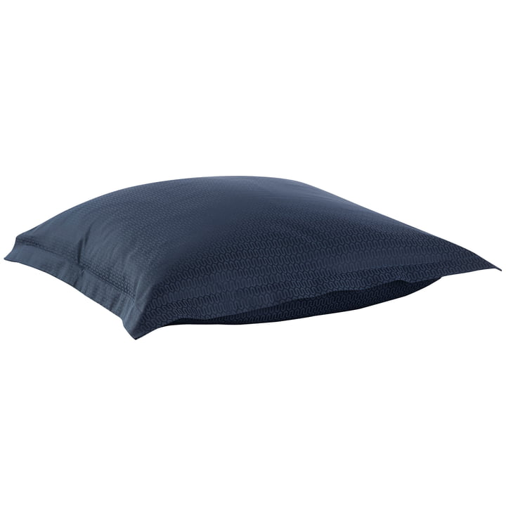 Ypsilon cushion cover, navy blaze by Georg Jensen Damask
