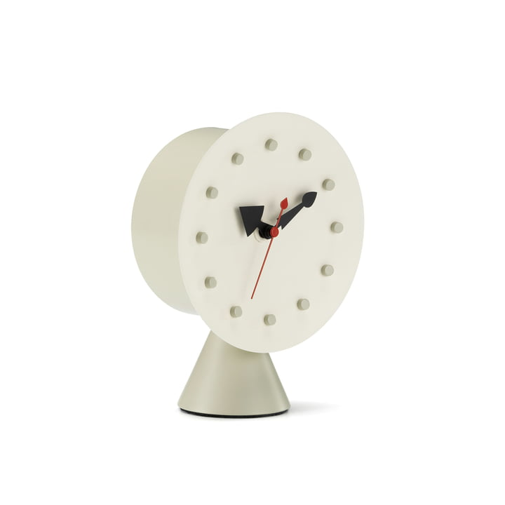 Cone Base Desk Clock by Vitra