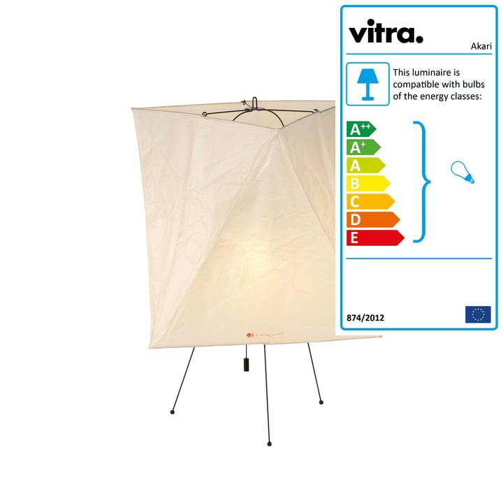 Akari YA2 table lamp from Vitra