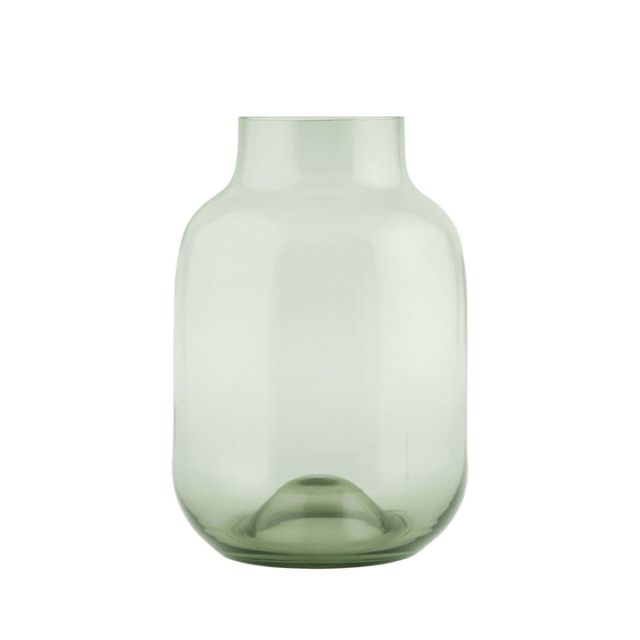 Shaped vase by House Doctor in green