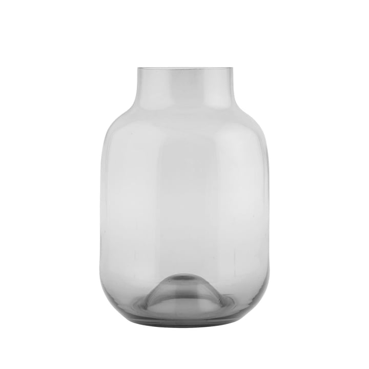 Shaped vase from House Doctor in grey