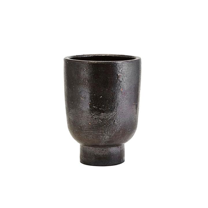 Artist flowerpot, Ø 15 x H 22 cm, black by House Doctor