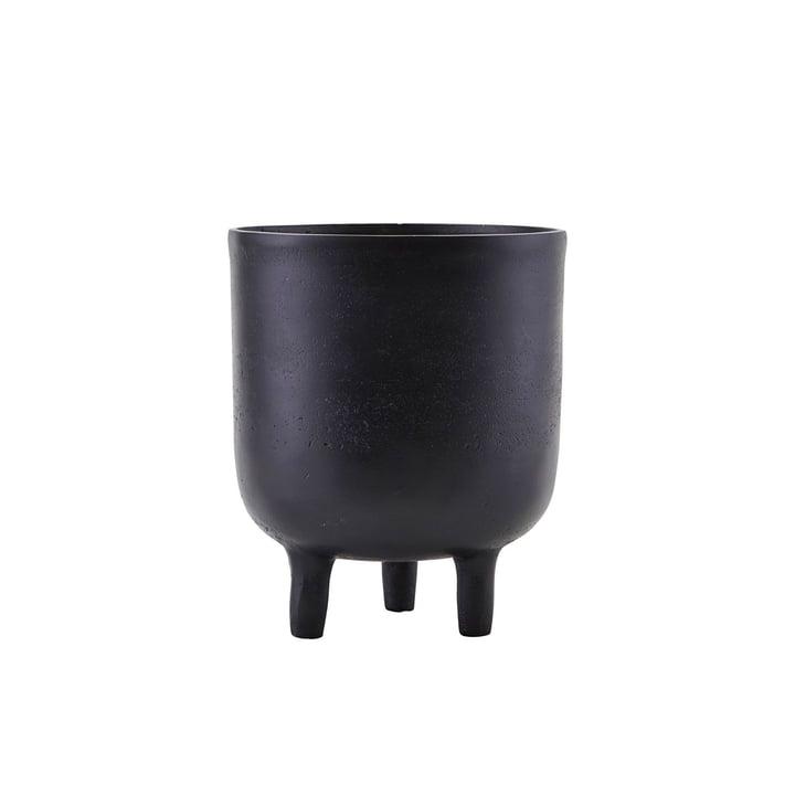 Jang flowerpot, Ø 15 x H 18 cm, black by House Doctor