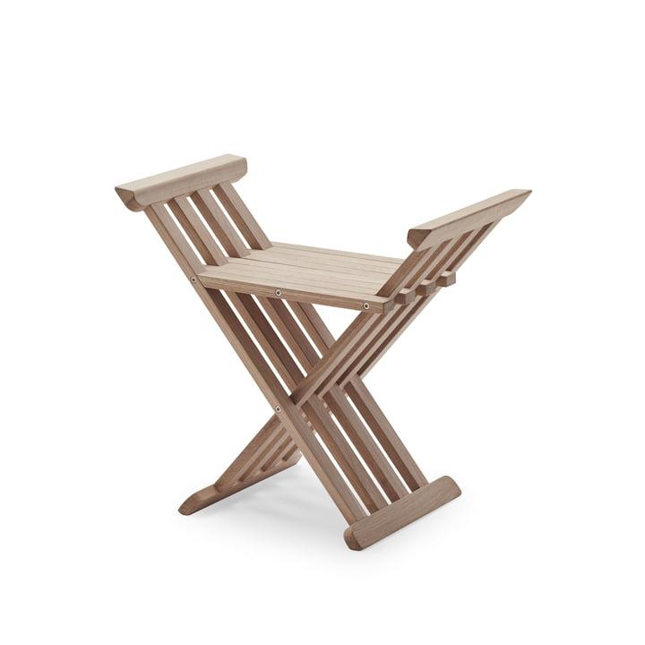 Royal folding stool from Skagerak in oak