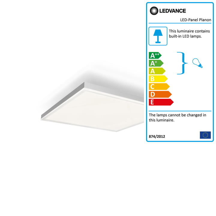 LED panel Planon Frameless, 300 x 300 mm from Ledvance