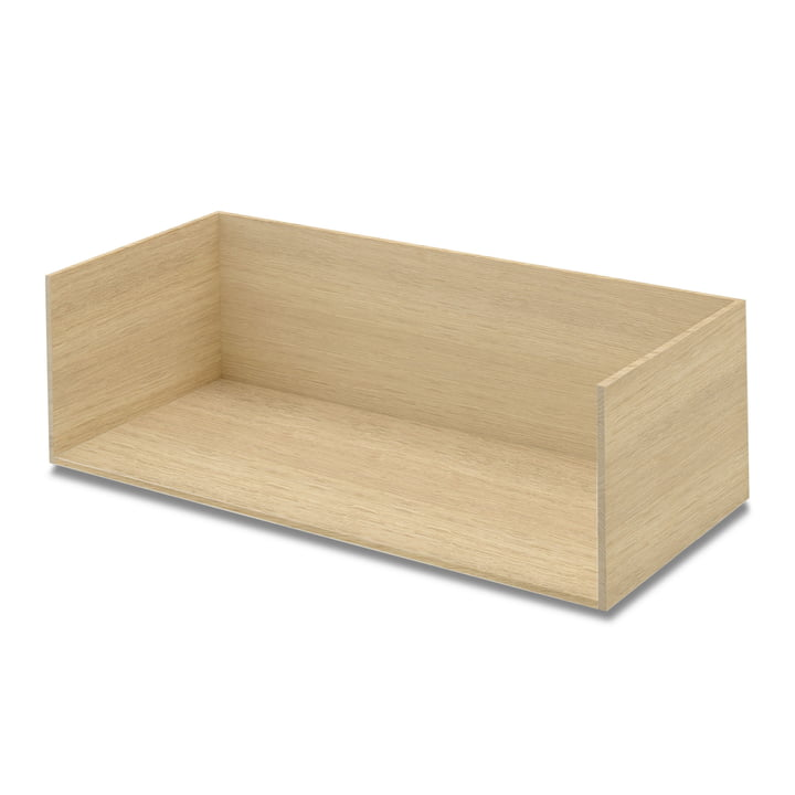 Vivlio shelf module large from Skagerak in oak