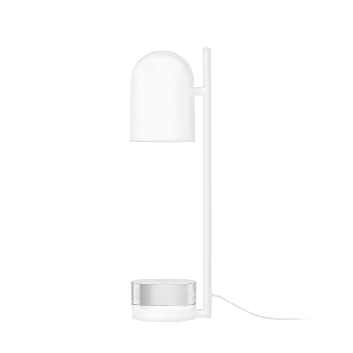 Luceo table lamp Ø 12 x H 50 cm by AYTM in white / clear
