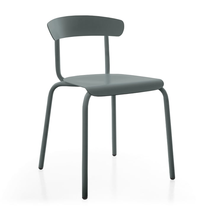 Alu Mito Outdoor Chair by Conmoto in granite grey