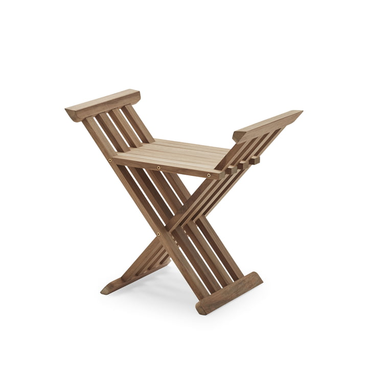 Royal folding stool from Skagerak in teak