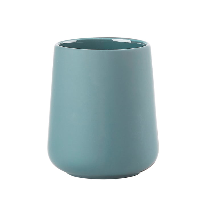 Nova One toothbrush cup from Zone Denmark in cameo blue