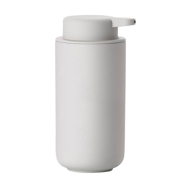 Ume soap dispenser H 19 cm by Zone Denmark in soft gray