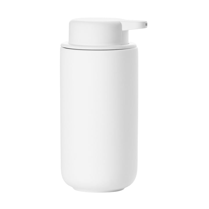 Ume soap dispenser H 19 cm from Zone Denmark in white