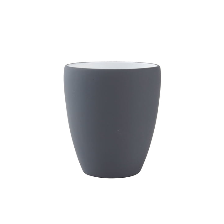 Zone Denmark - Soft toothbrush cup, grey