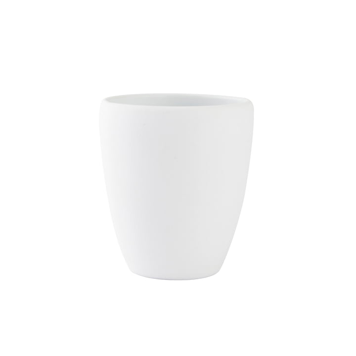 Soft toothbrush cup from Zone Denmark in white