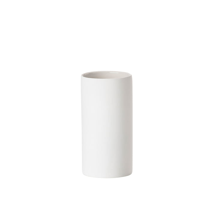 Solo toothbrush cup from Zone Denmark in white matt