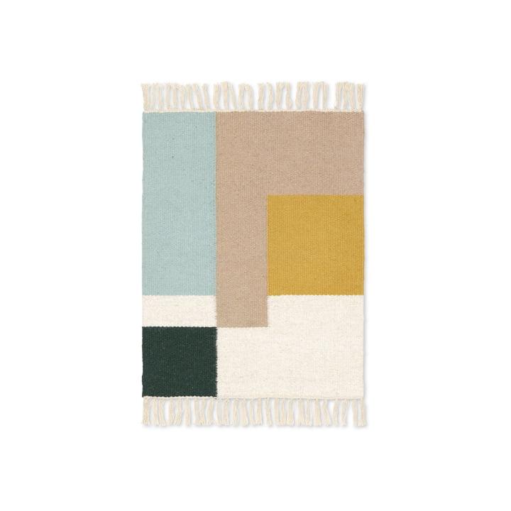 Kilim rug squares in 50 x 70 cm by ferm Living
