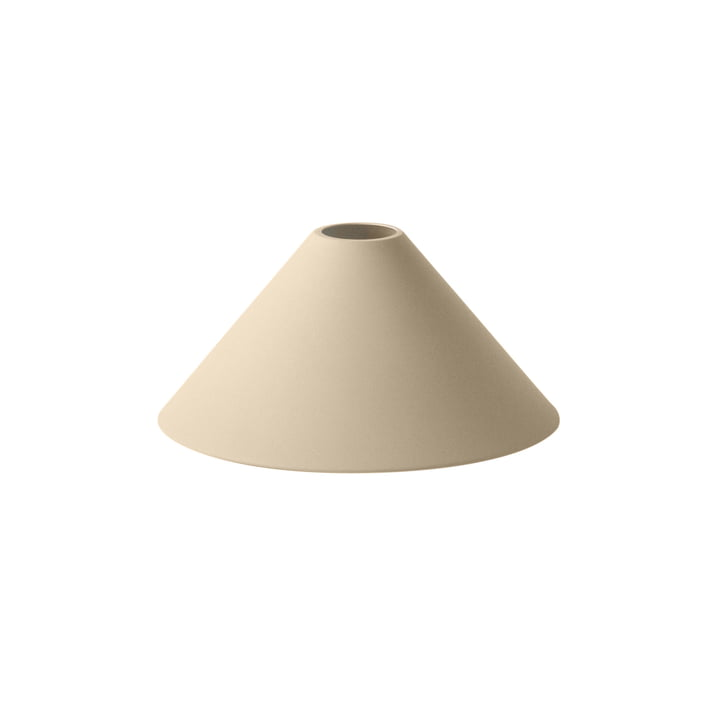 Cone Shade lampshade from ferm Living in beige