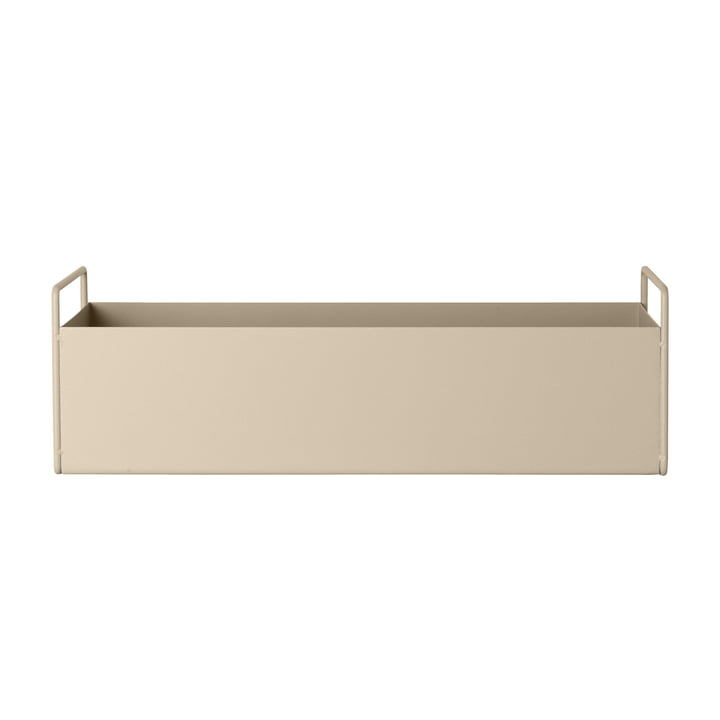 Plant Box small from ferm Living in cashmere