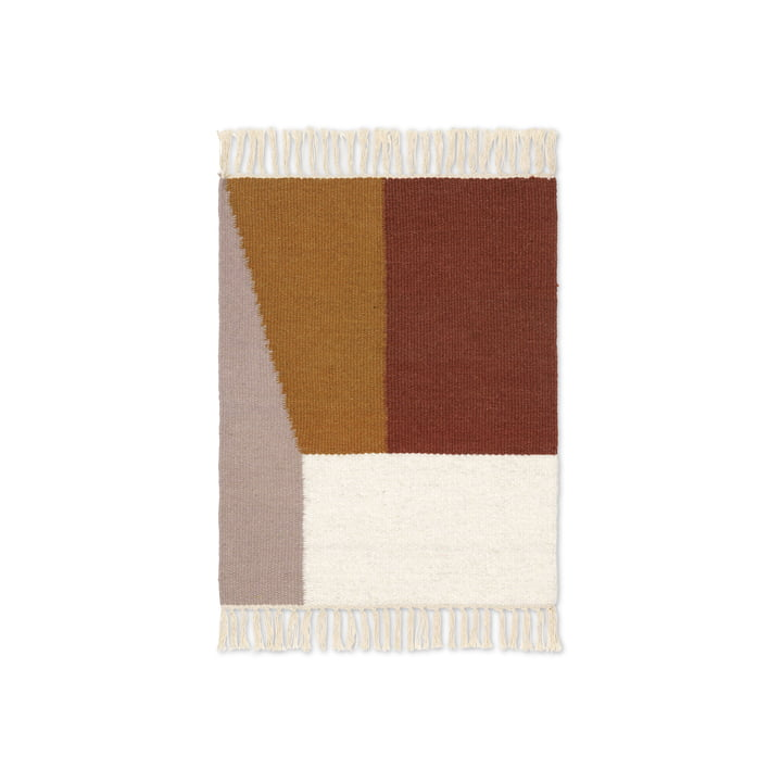 Kelim Mat Borders 50 x 70 cm from ferm Living