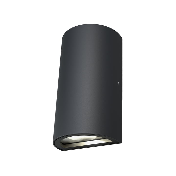 Endura Style UpDown LED Wall Light Outdoor, IP 44 / Warm White 3000 K, dark grey by Ledvance