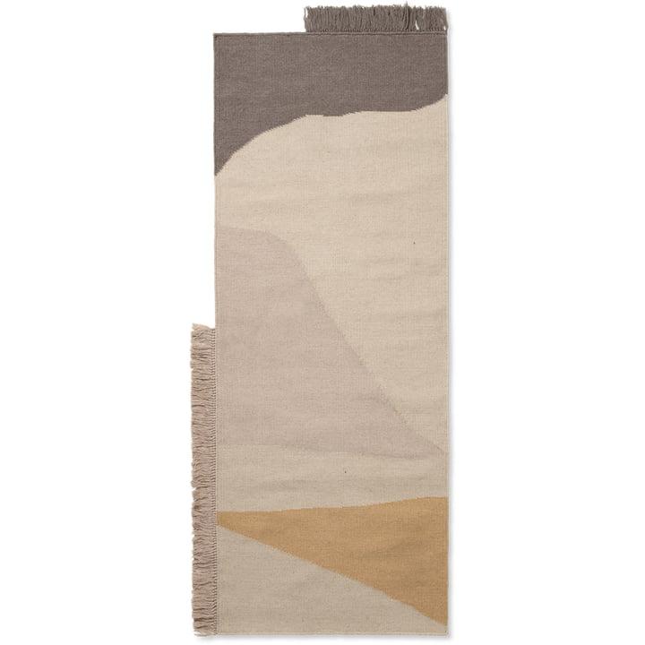 Kelim Runner Earth 70 x 180 cm from ferm Living in multi