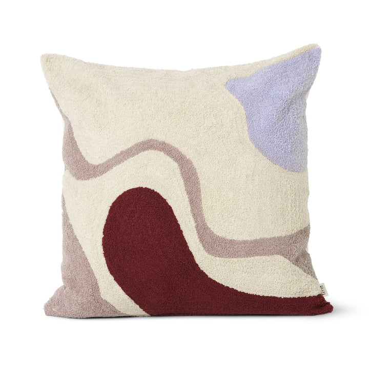 Vista cushion 50 x 50 cm from ferm Living in off-white