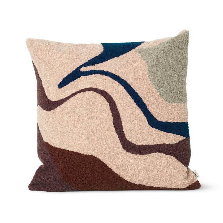 Vista cushion 50 x 50 cm from ferm Living in beige