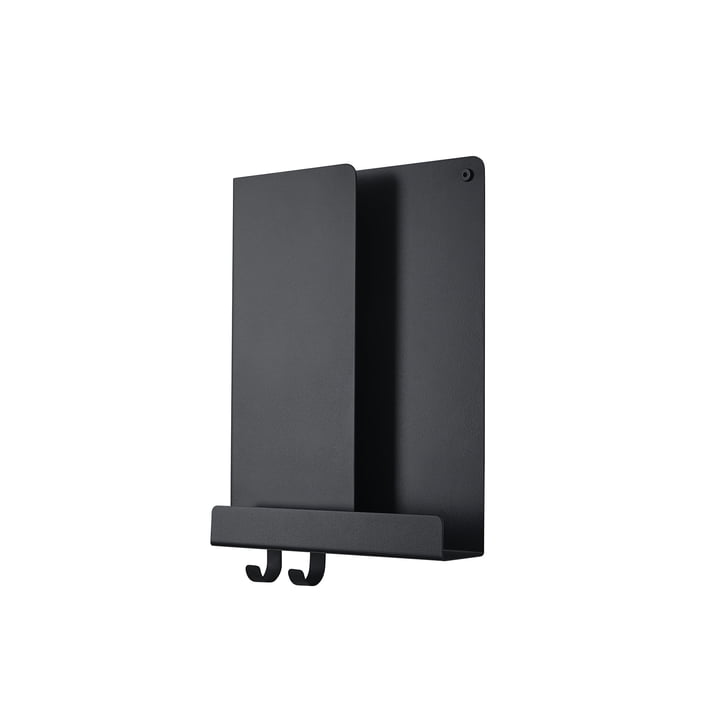 Folded Shelves 2 9. 5 x 40 cm from Muuto in black