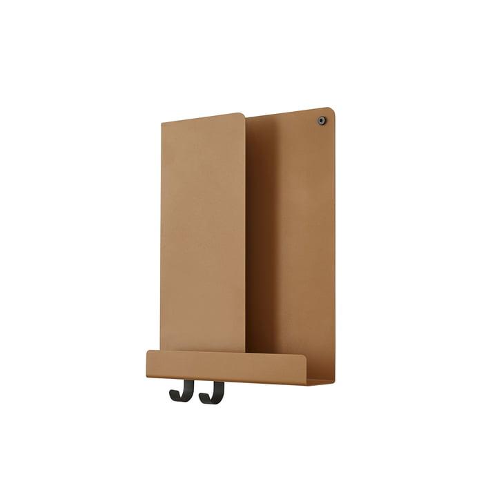 Folded Shelves 2 9. 5 x 40 cm from Muuto in burnt orange