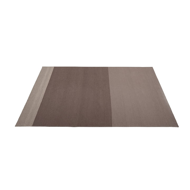 Varjo carpet 170 x 240 cm from Muuto in taupe