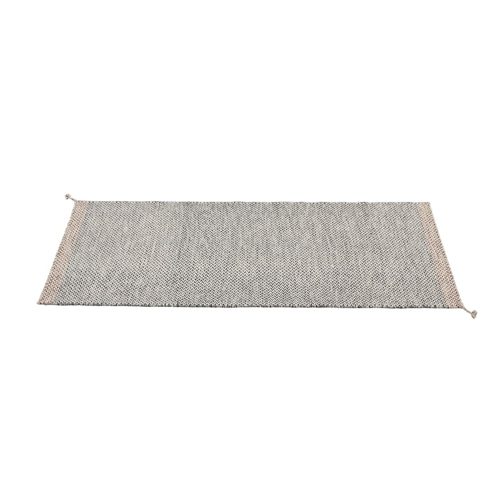 Ply carpet runner 80 x 200 cm from Muuto in black and white