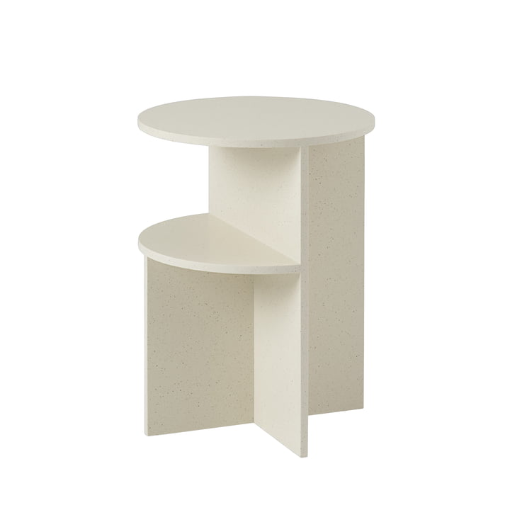 Halves side table Ø 35,5 cm from Muuto in sand