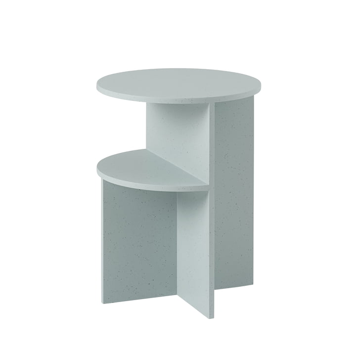 Halves side table Ø 35,5 cm from Muuto in sage green