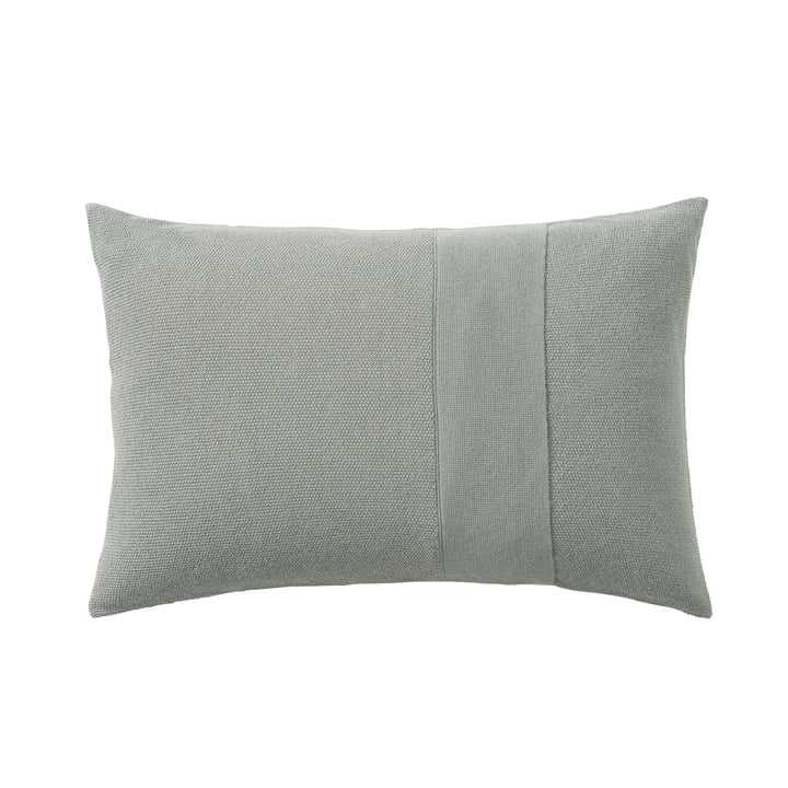 Layer cushion 40 x 60 cm from Muuto in sage green