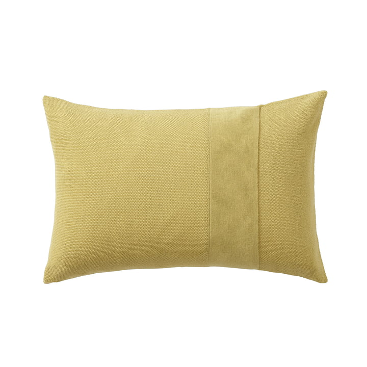 Layer cushion 40 x 60 cm from Muuto in yellow