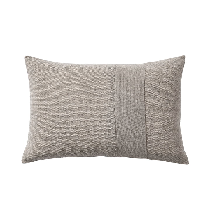 Layer cushion 40 x 60 cm from Muuto in sand-grey