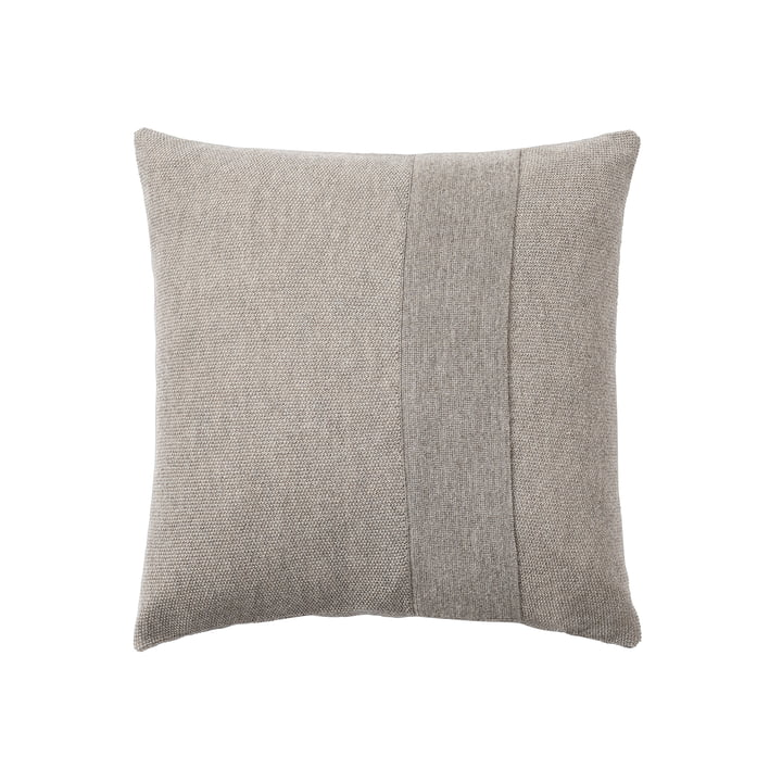Layer cushion 50 x 50 cm from Muuto in sand-grey