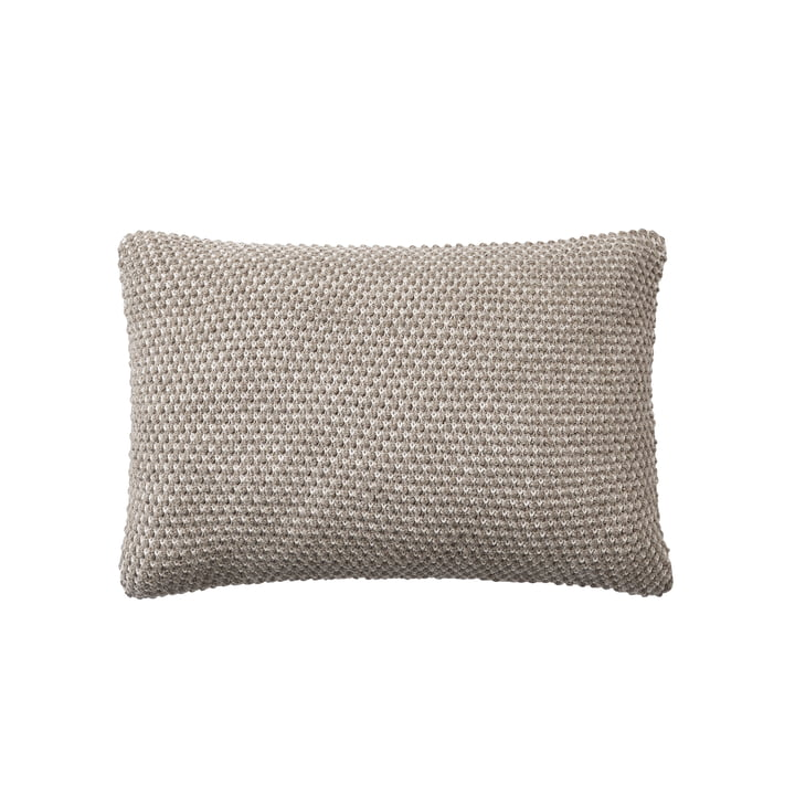 Twine pillow 40 x 60 cm from Muuto in beige-grey