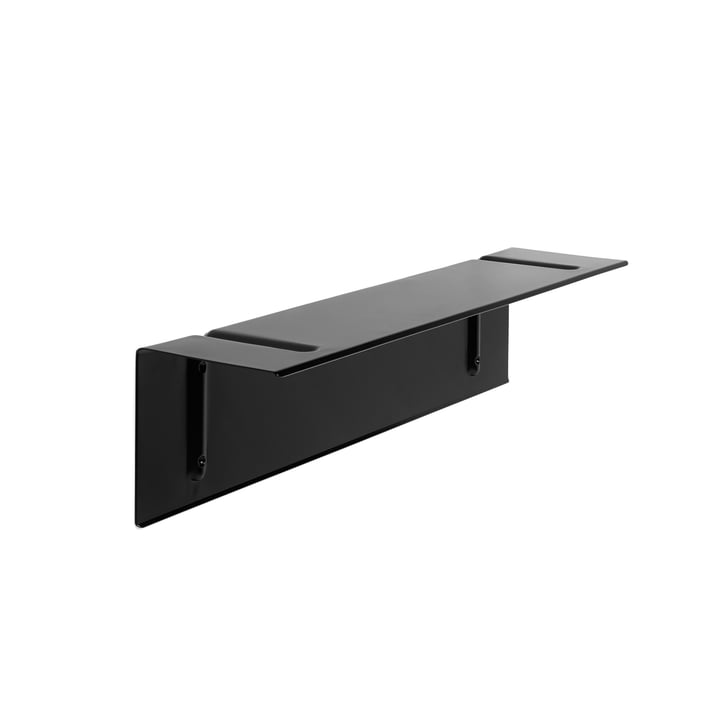 Brackets Incl. shelf 80 cm by Hay in black