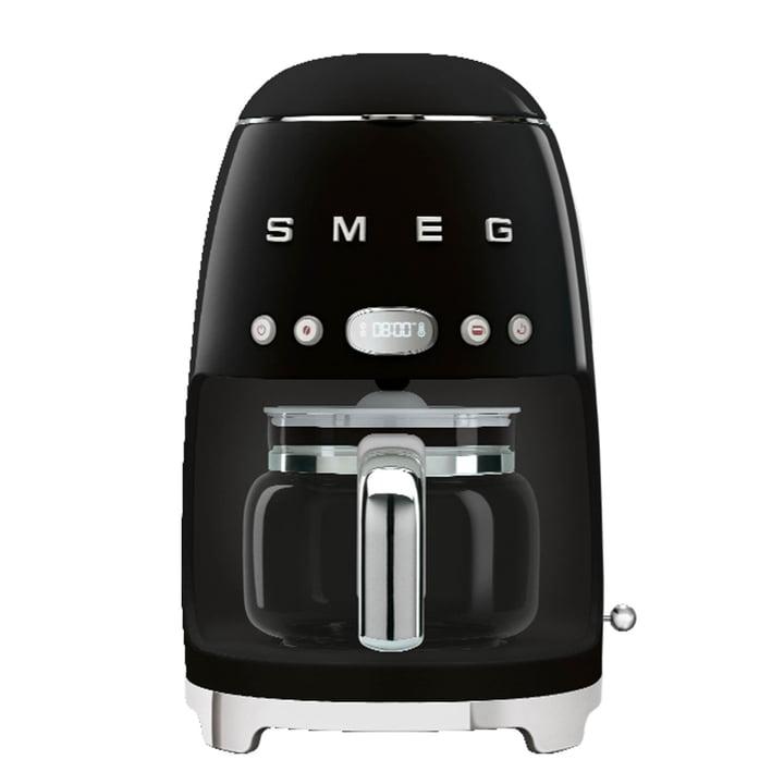 Filter coffee maker DCF02 from Smeg in black